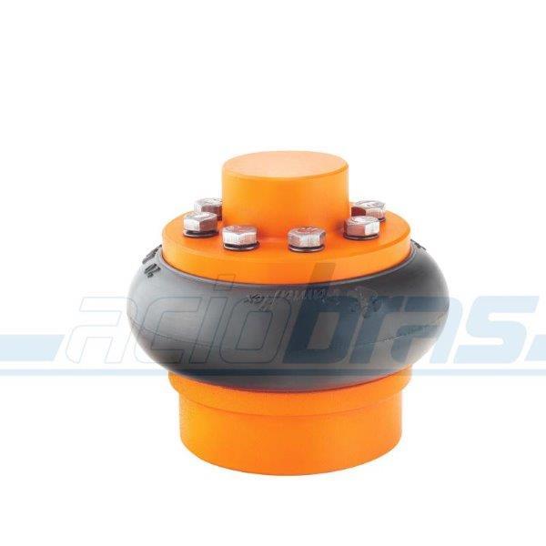 Acoplamento elástico pneu