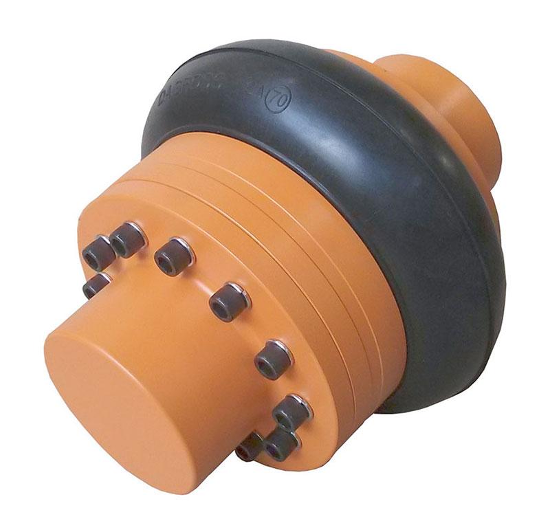 Acoplamento elástico tipo pneu