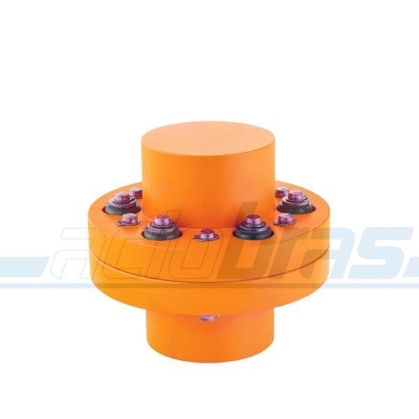 Acoplamento flexível para motor de passo