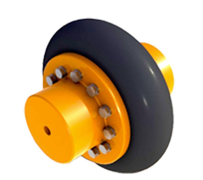 Acoplamento tipo pneu